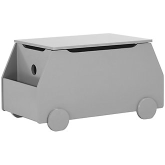 Metro Gray Toy Chest