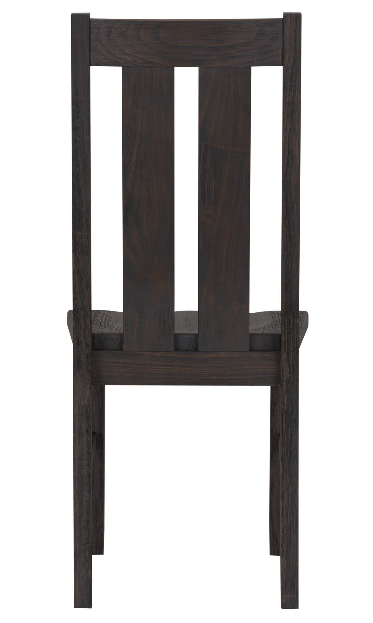 Highlands Dark Tone Wood Desk Chair