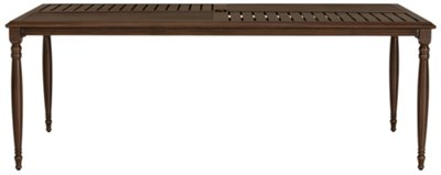 Tradewinds Dark Tone Rectangular Table