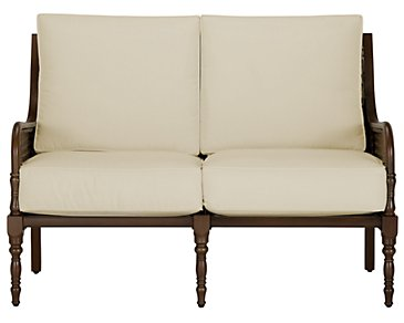 Tradewinds Dark Tone Loveseat