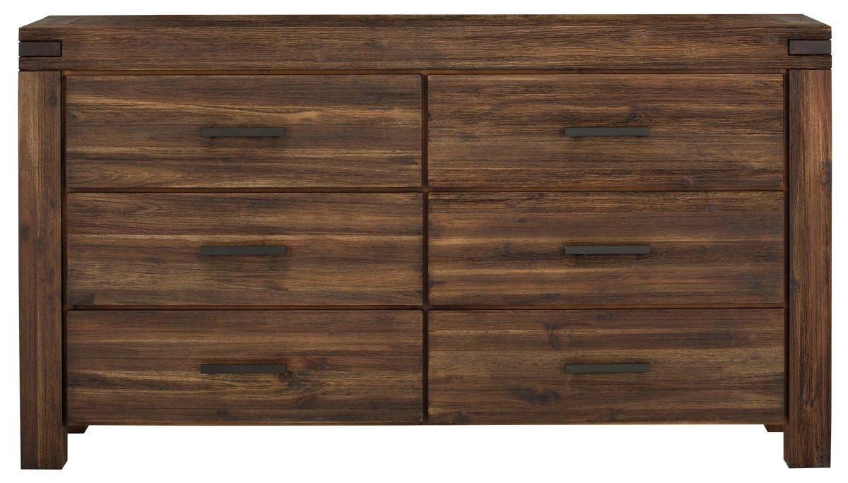 Holden Mid Tone Wood Dresser