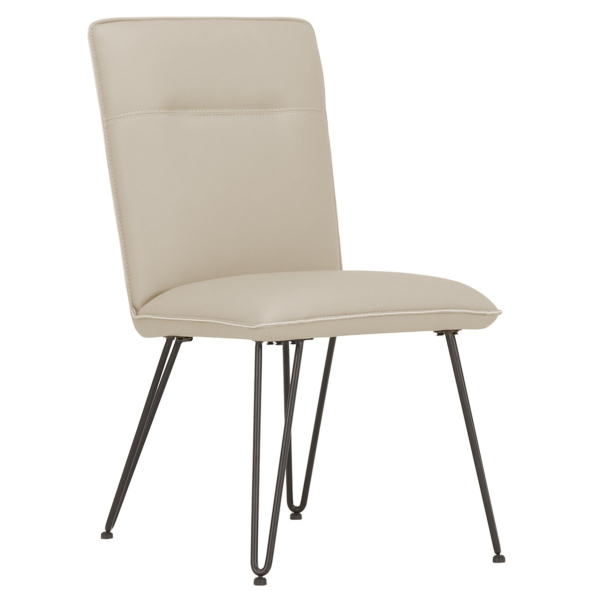 Demi Taupe Upholstered Side Chair