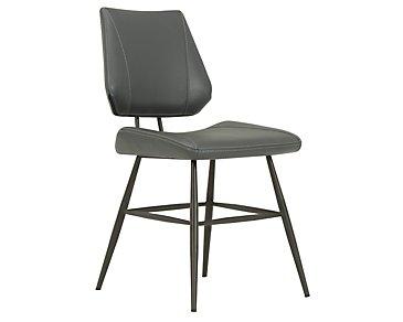 Gunnar Black Upholstered Side Chair