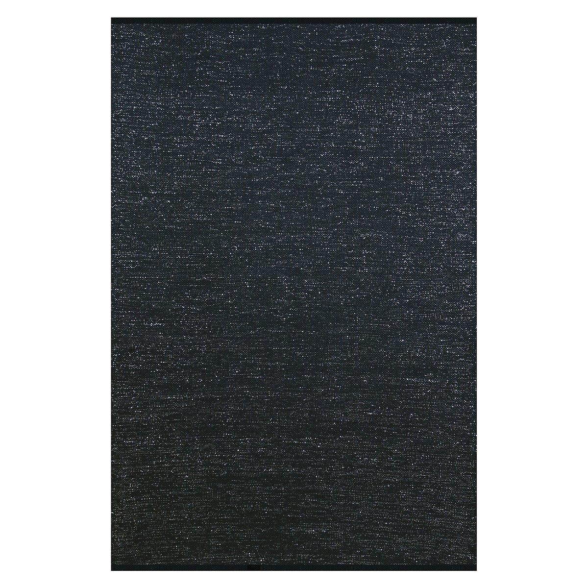 Sparkle Black 5X8 Area Rug