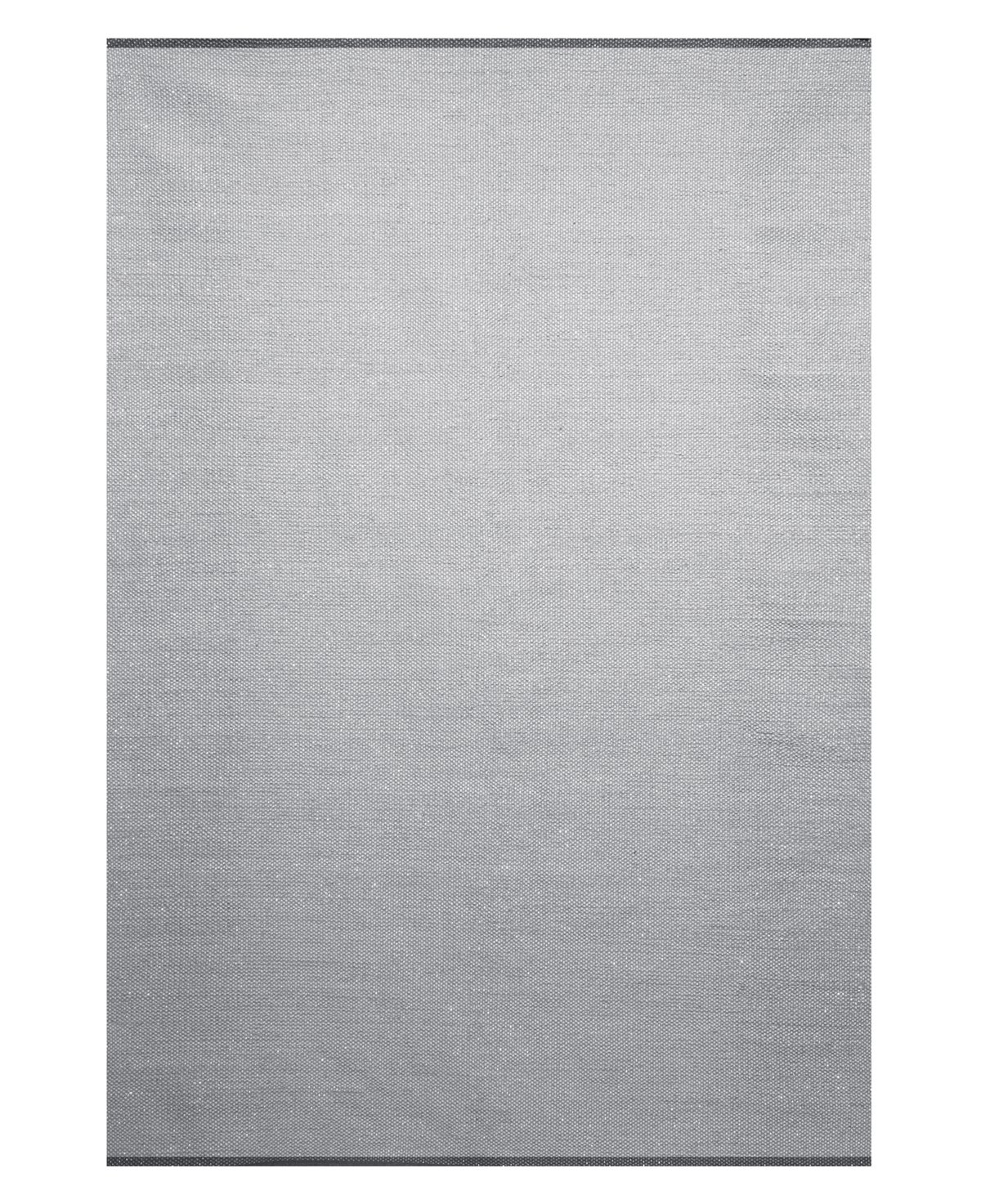 Sparkle White Poly Blend 8x10 Area Rug