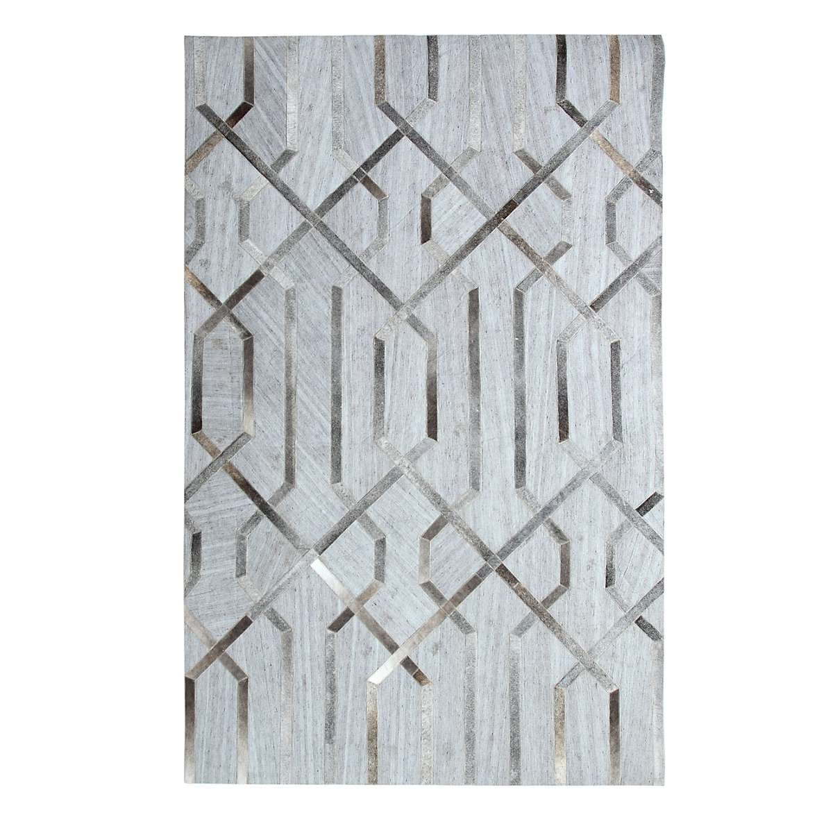 Alloy Gray 5X8 Area Rug