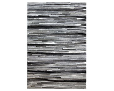Field Multicolored 5X8 Area Rug