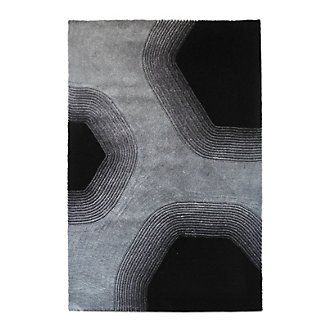 Relief Gray 8X10 Area Rug