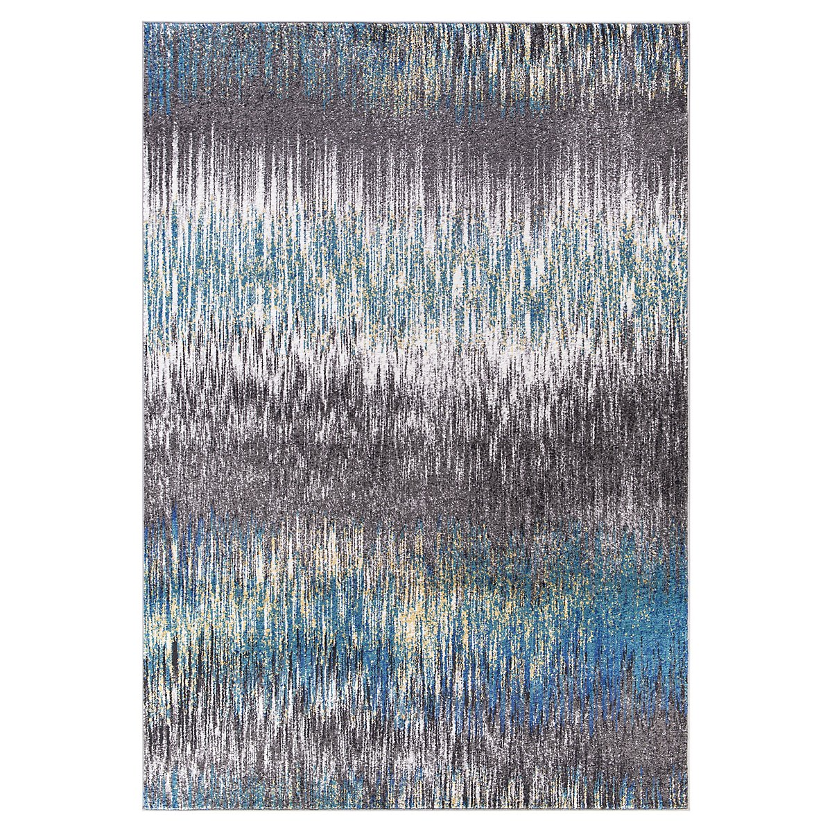 Unique Multicolored 8x10 Area Rug