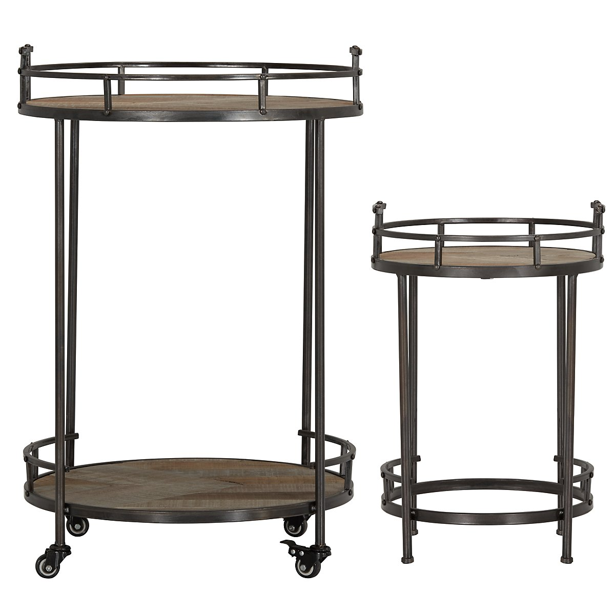 Sonoma Metal Metal Accent Table
