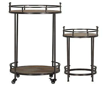 Sonoma Metal Set Of 2 Accent Table