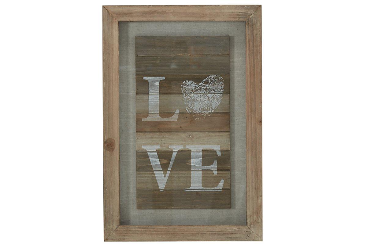 Love Wood Wall Art. Shop Now.