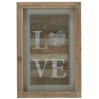 Love Wood Wall Art