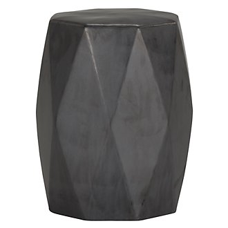 Brayden Black Accent Stool