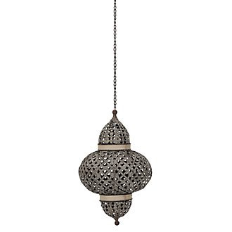 Dara Metal Medium Hanging Lantern