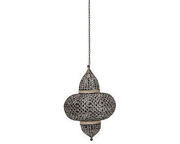 Dara Metal Large Hanging Lantern