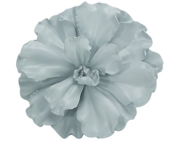 Floral Gray Large Wall Art