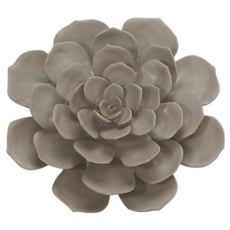 Floral Beige Medium Wall Art