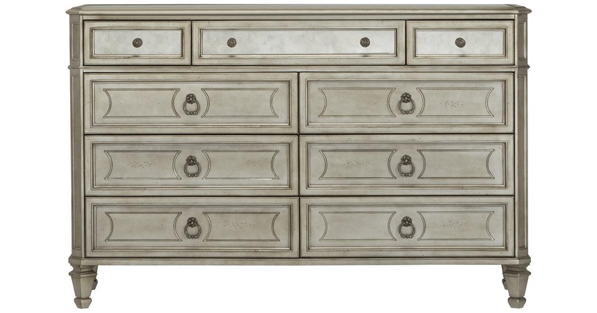 City Furniture Sloane Silver Dresser