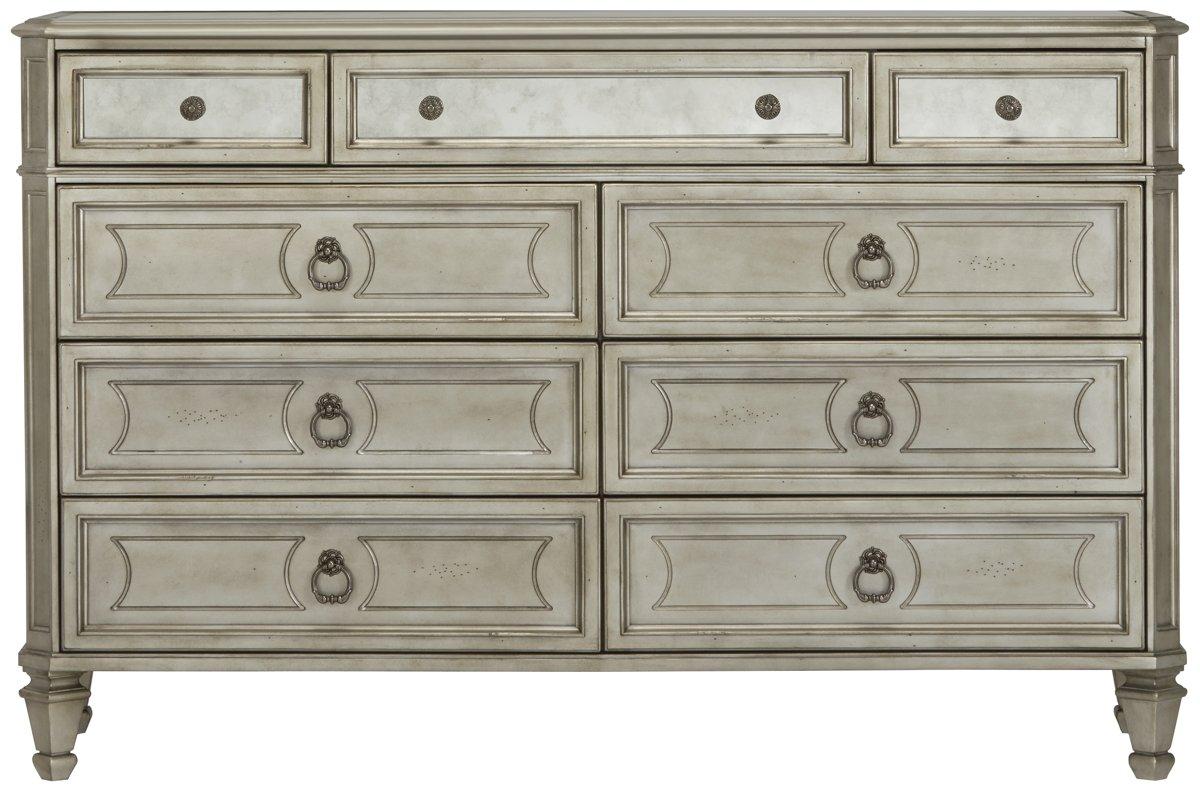 Sloane Silver Wood Dresser