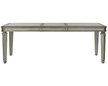 Sloane Silver Rectangular Table