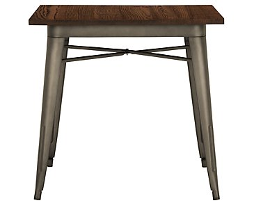 Huntley Dark Tone Square Table