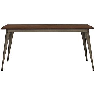 Huntley Dark Tone Rectangular Table