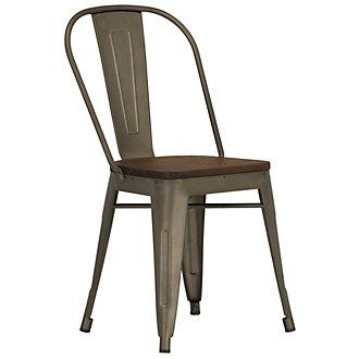 Huntley Dark Tone Wood Side Chair