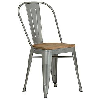 Huntley Light Tone Wood Side Chair