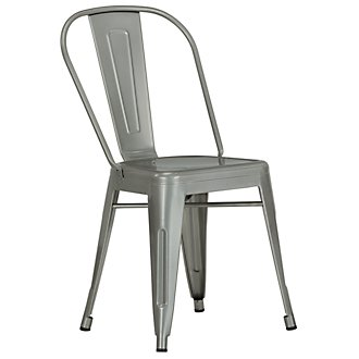 Huntley Light Tone Metal Side Chair
