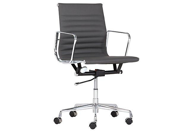 Mateo Gray Desk Chair