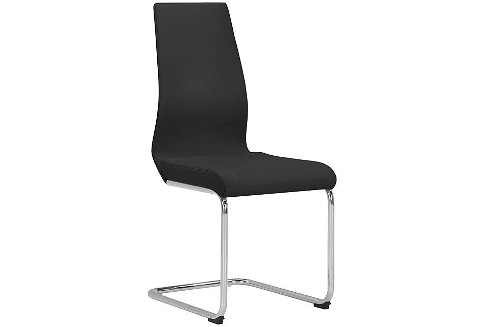 Lennox BLACK  Upholstered Side Chair