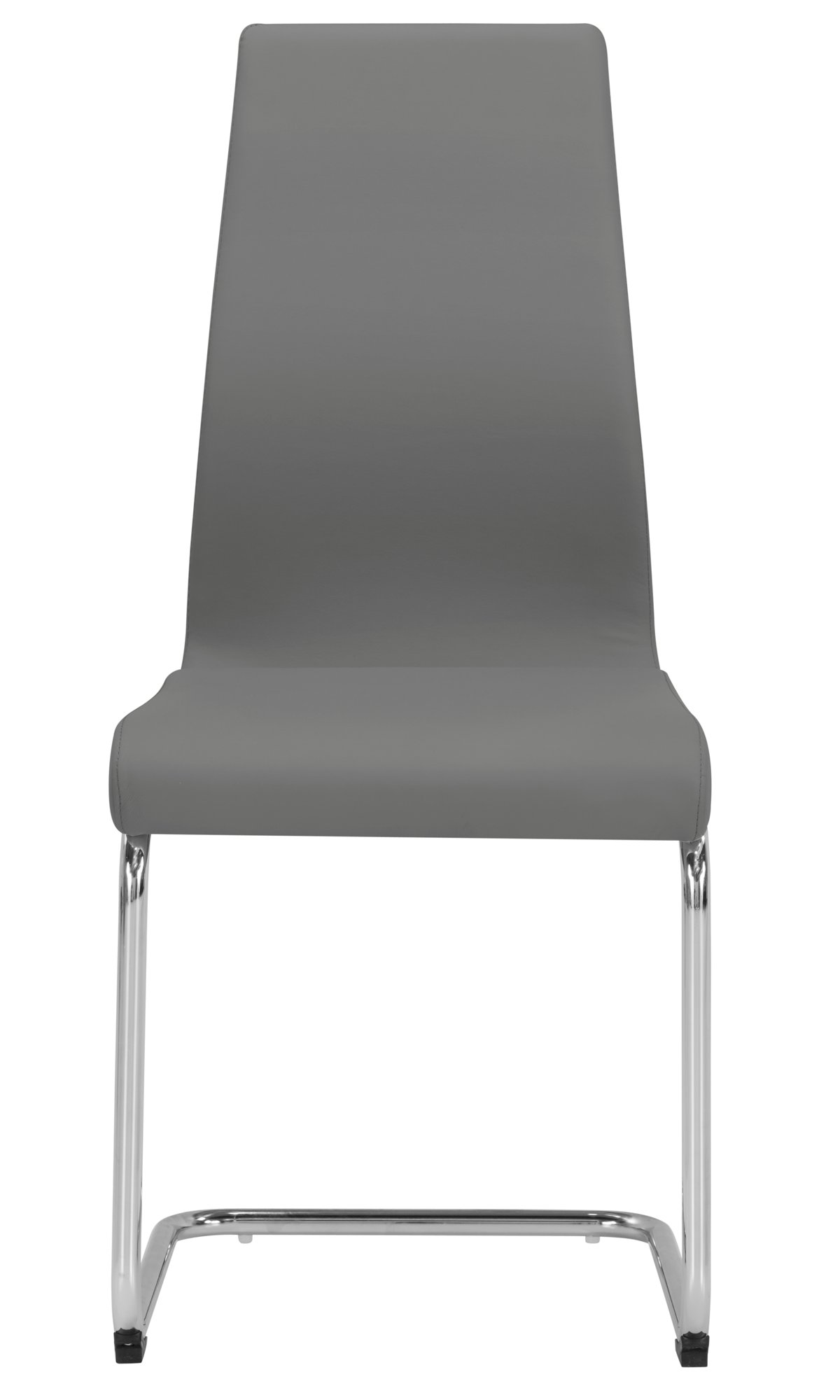 Lennox Gray Fabric Upholstered Side Chair