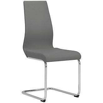 Lennox Gray Upholstered Side Chair