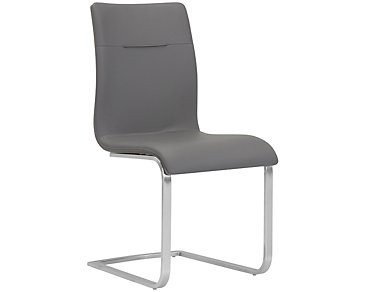 Drake Gray Upholstered Side Chair