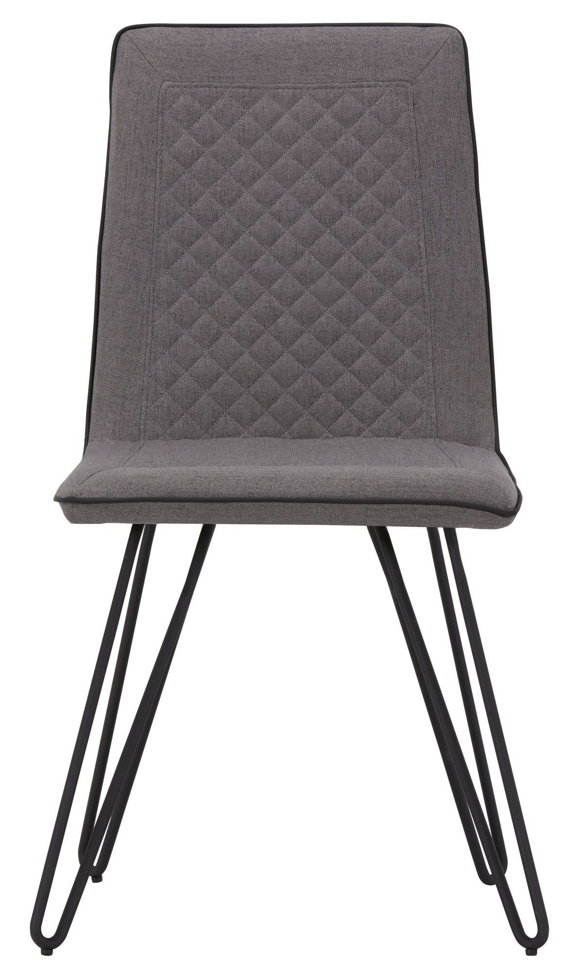 Gabe Gray Fabric Upholstered Side Chair