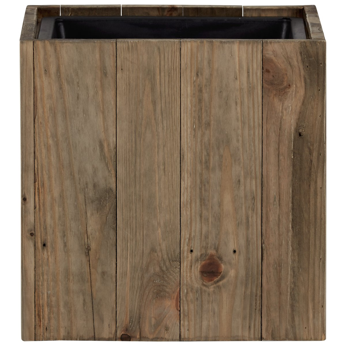 Beth Medium Wood Square Planter