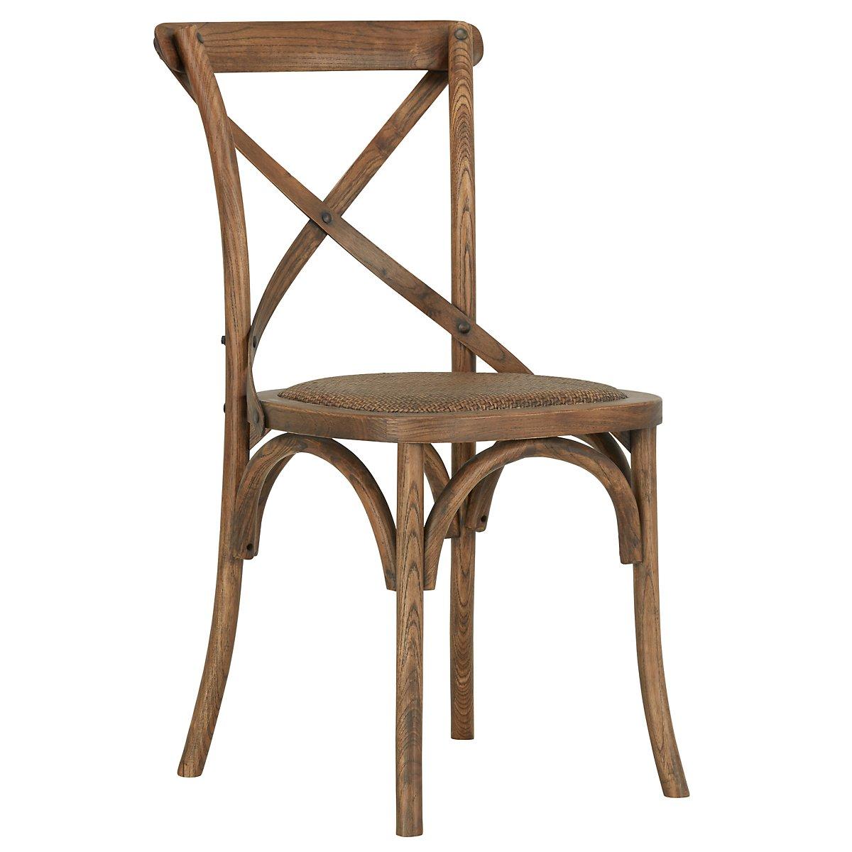 Teagan Light Tone Wood Side Chair