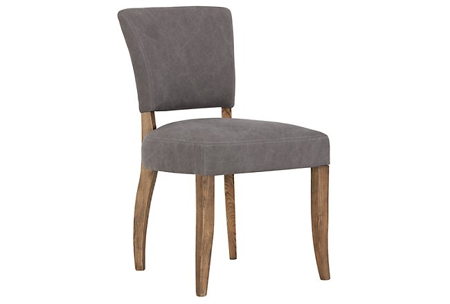 Camilla Gray Upholstered Upholstered Side Chair