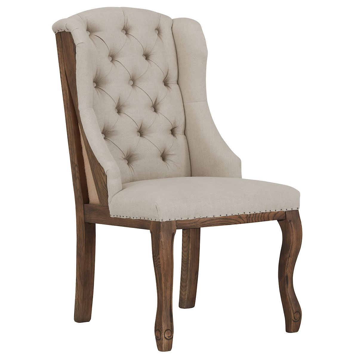 Collins Beige Accent Chair
