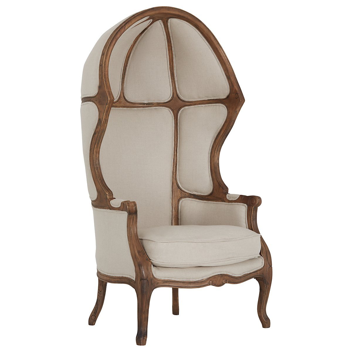 Eloise Beige Accent Chair