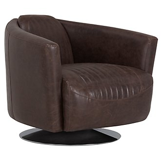 Gavin Brown Swivel Chair