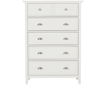 Spencer White Drawer Chest
