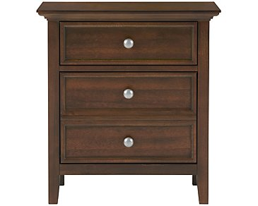 Spencer Mid Tone Nightstand