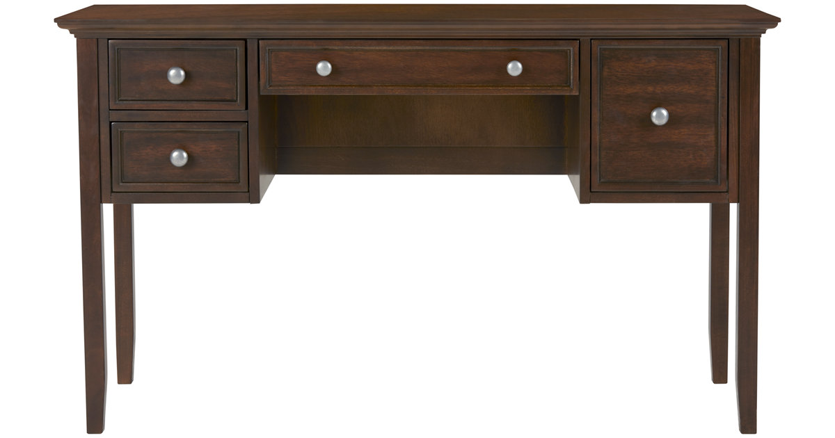 City Furniture Spencer Mid Tone Desk