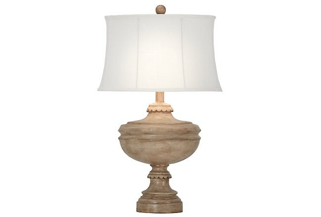 Aiden Light Taupe Table Lamp