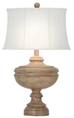 Aiden Light Taupe Table Lamp. VIEW LARGER