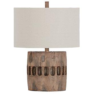 Decklin Dark Beige Table Lamp