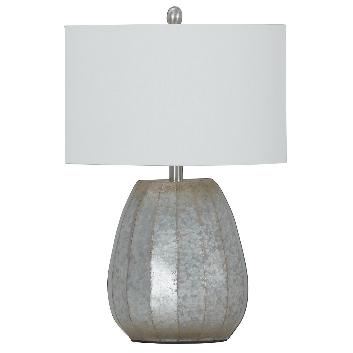 City furniture rhett silver table lamp rhett silver table lamp geotapseo Image collections