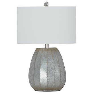 Rhett Silver Table Lamp